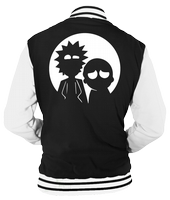 RICK AND MORTY MOON VARSITY - INSPIRED BY RICK AND MORTY